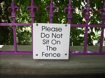 sitonfence