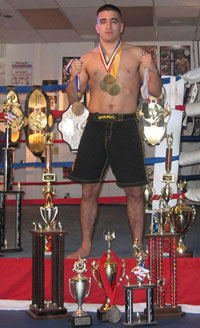 Marcos Avellan Medals and Trophies